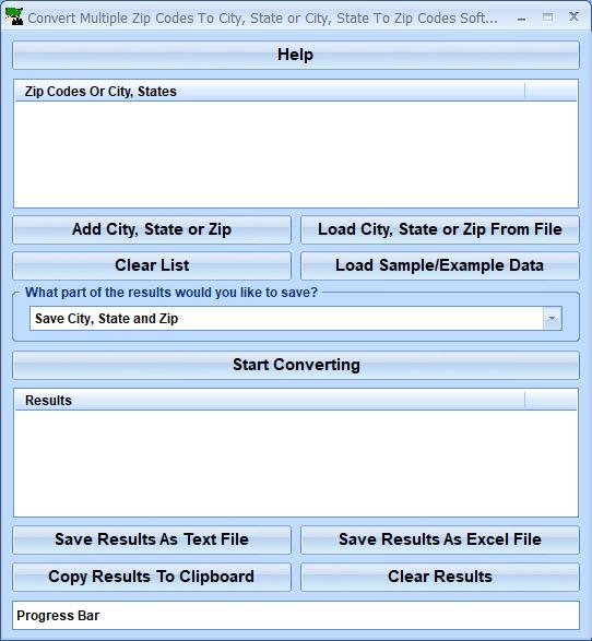 Multiple Cities Per Zip Code
